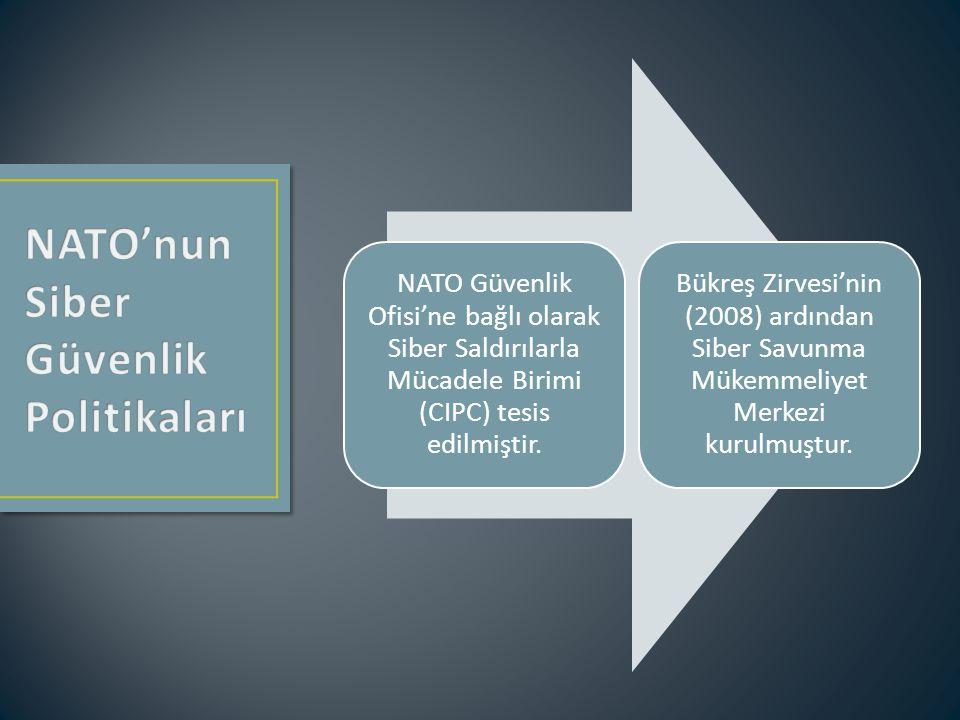 NATO'nunSiber Güvenlik Politikaları