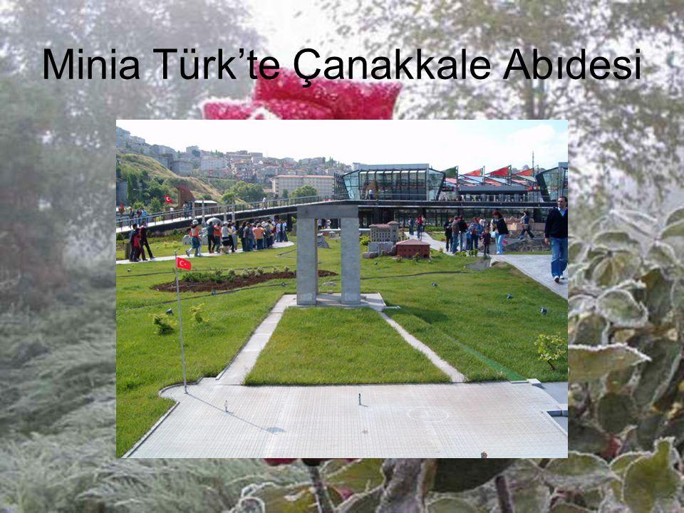 Minia Türk'te Çanakkale Abıdesi