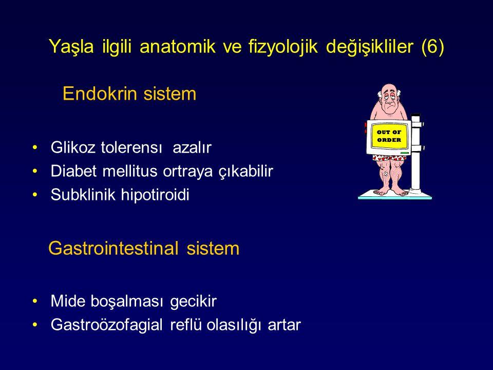 Yaşla ilgili anatomik ve fizyolojik değişikliler (6)