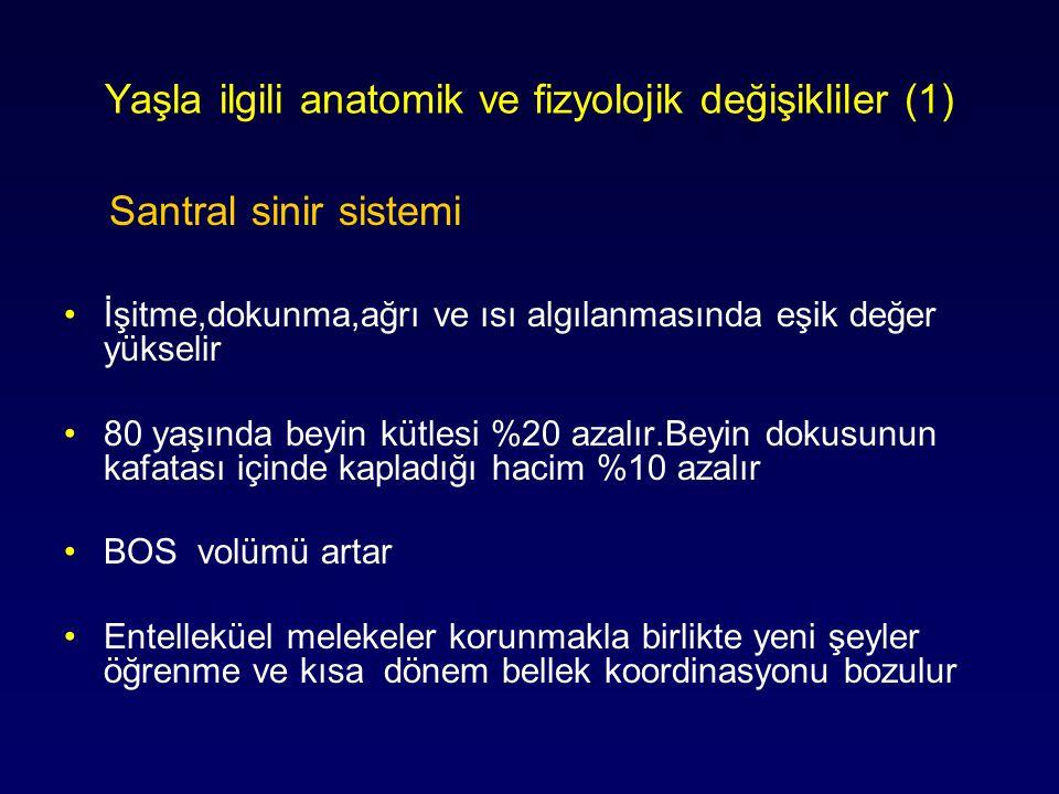 Yaşla ilgili anatomik ve fizyolojik değişikliler (1)