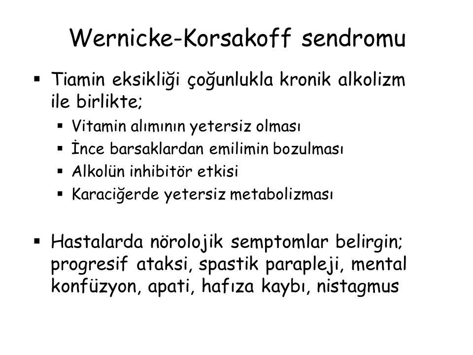 Wernicke-Korsakoff sendromu