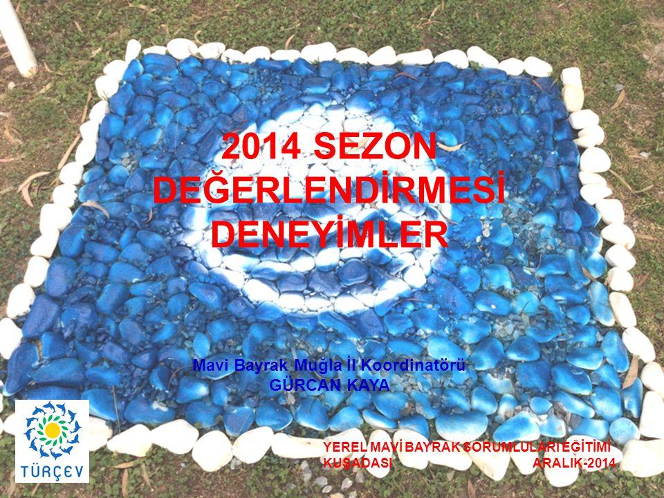 DEĞERLENDİRMESİ DENEYİMLER Mavi Bayrak Muğla İl Koordinatörü
