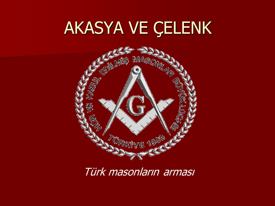 Türk masonların arması