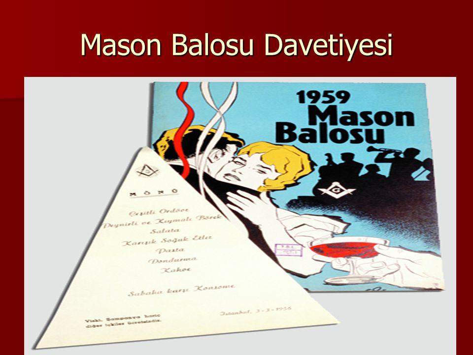 Mason Balosu Davetiyesi