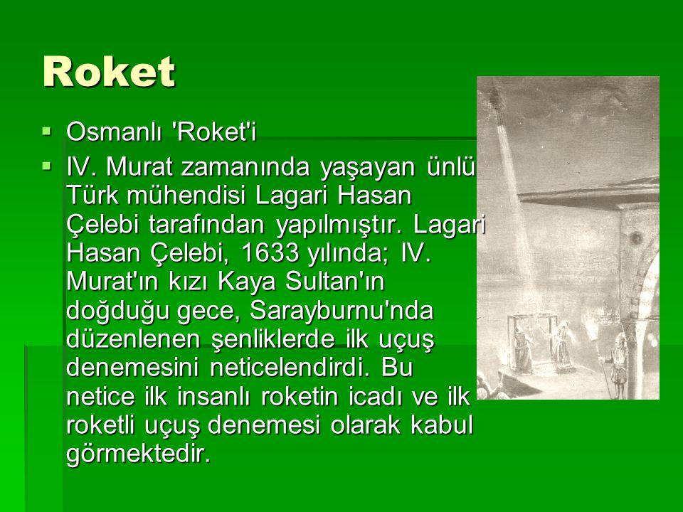 Roket Osmanlı Roket i.
