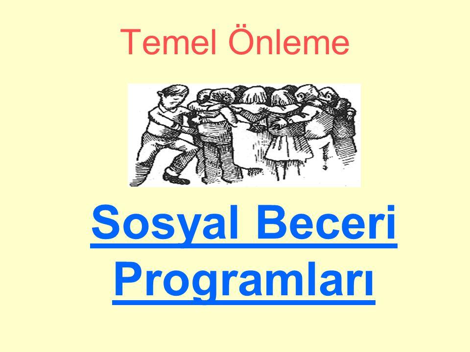 Sosyal Beceri Programları
