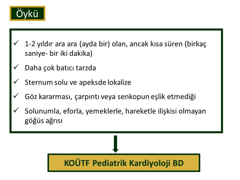 KOÜTF Pediatrik Kardiyoloji BD