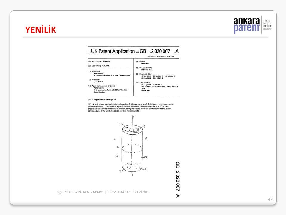 YENİLİK © 2011 Ankara Patent | Tüm Hakları Saklıdır.