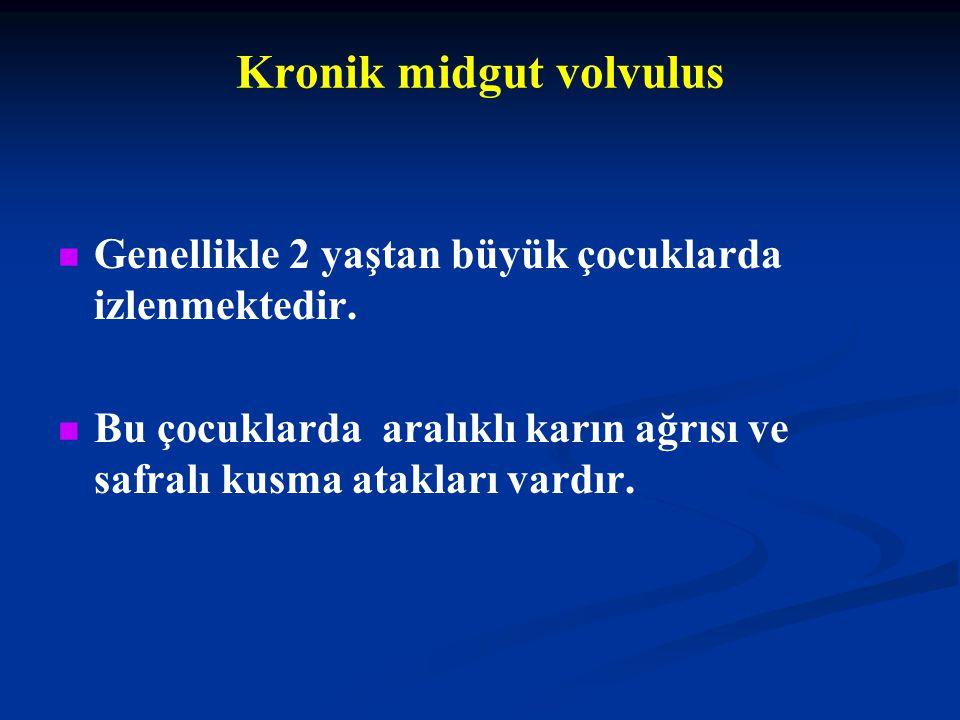 Kronik midgut volvulus