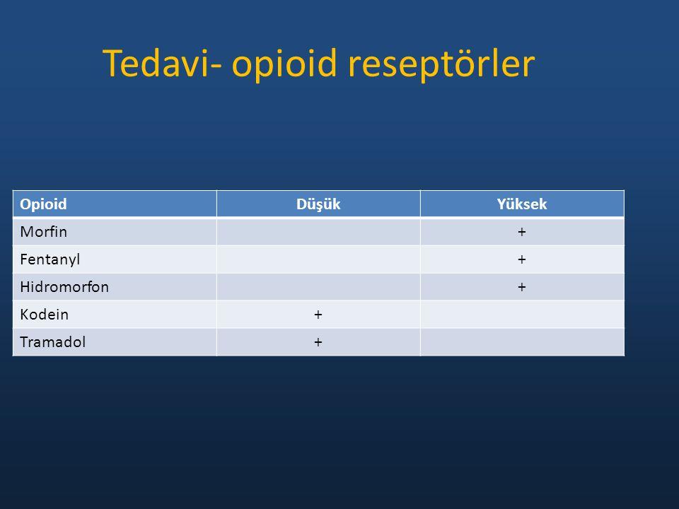 Tedavi- opioid reseptörler