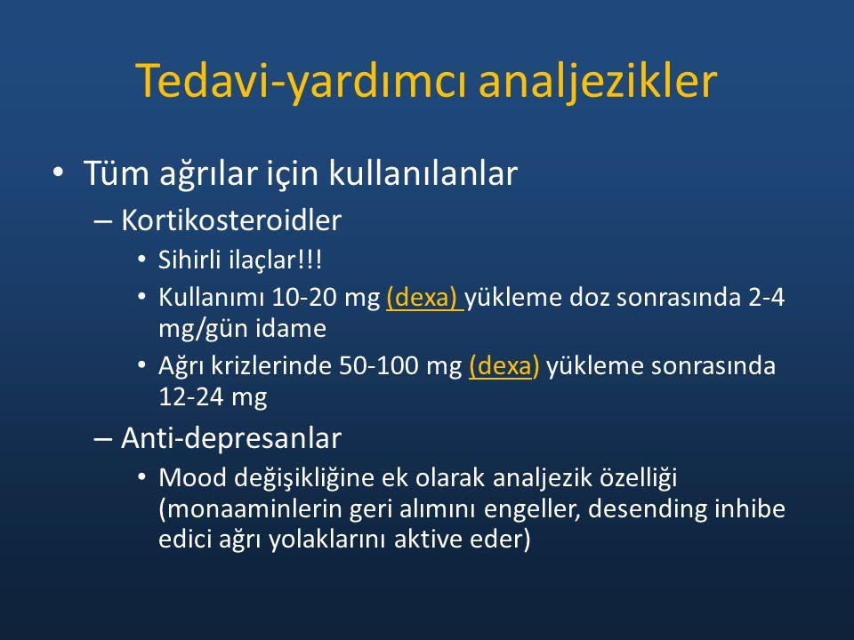 Tedavi-yardımcı analjezikler