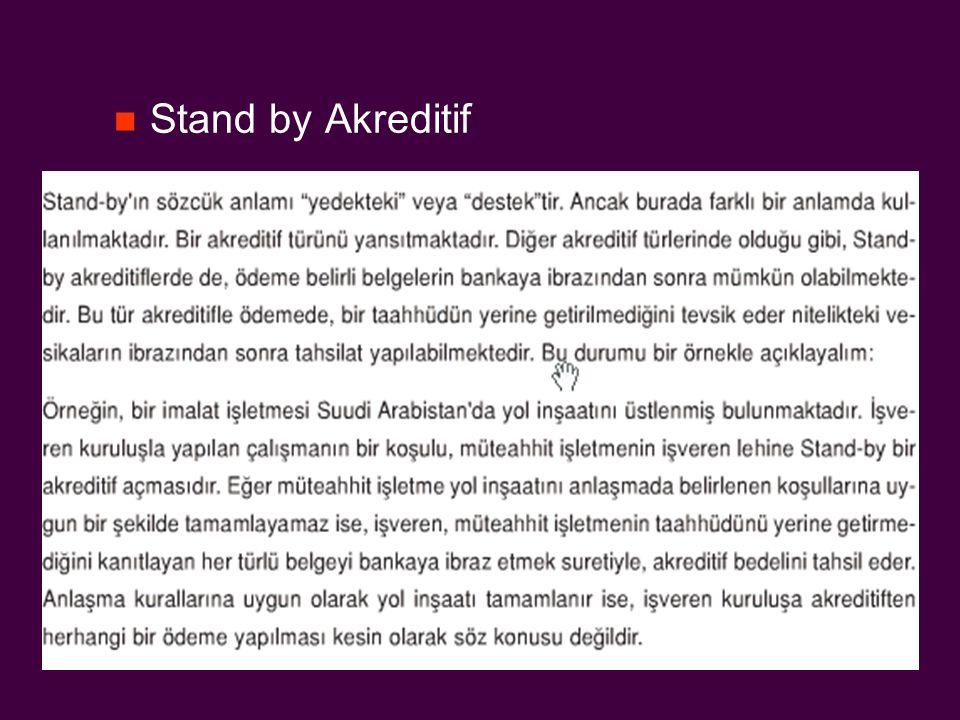 Stand by Akreditif