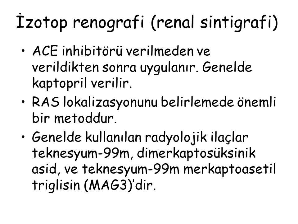 İzotop renografi (renal sintigrafi)