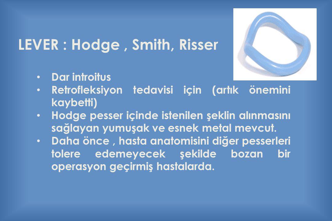 LEVER : Hodge , Smith, Risser