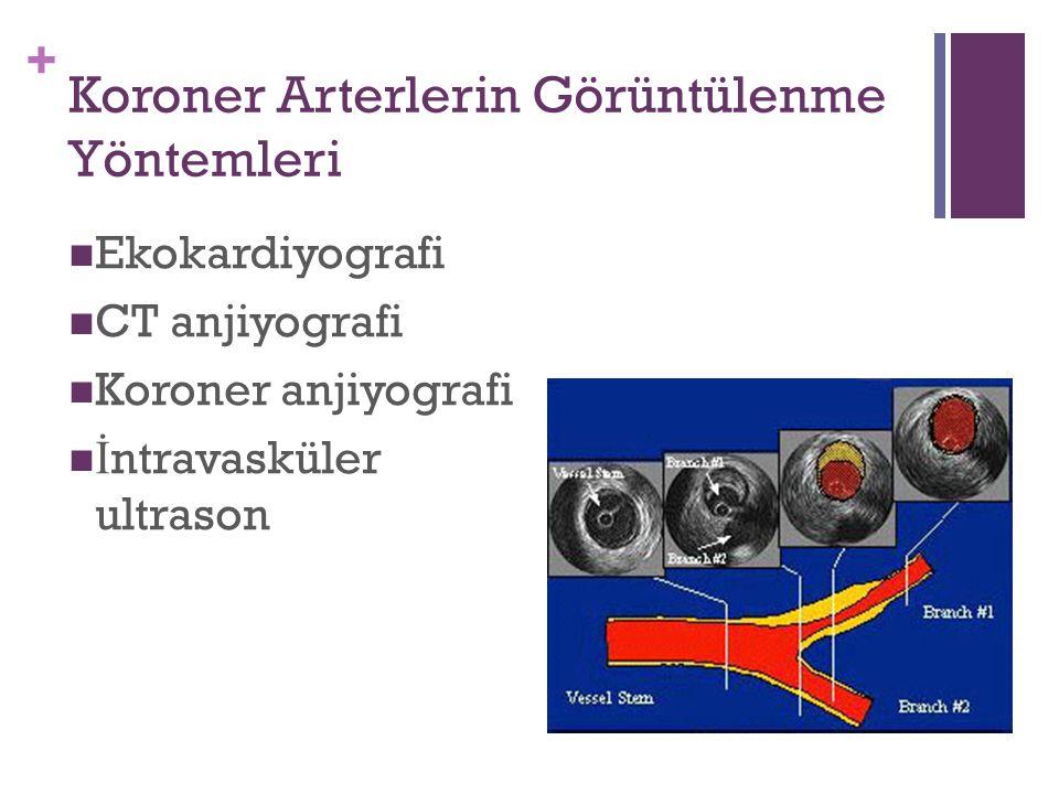 Koroner Arterlerin Görüntülenme Yöntemleri