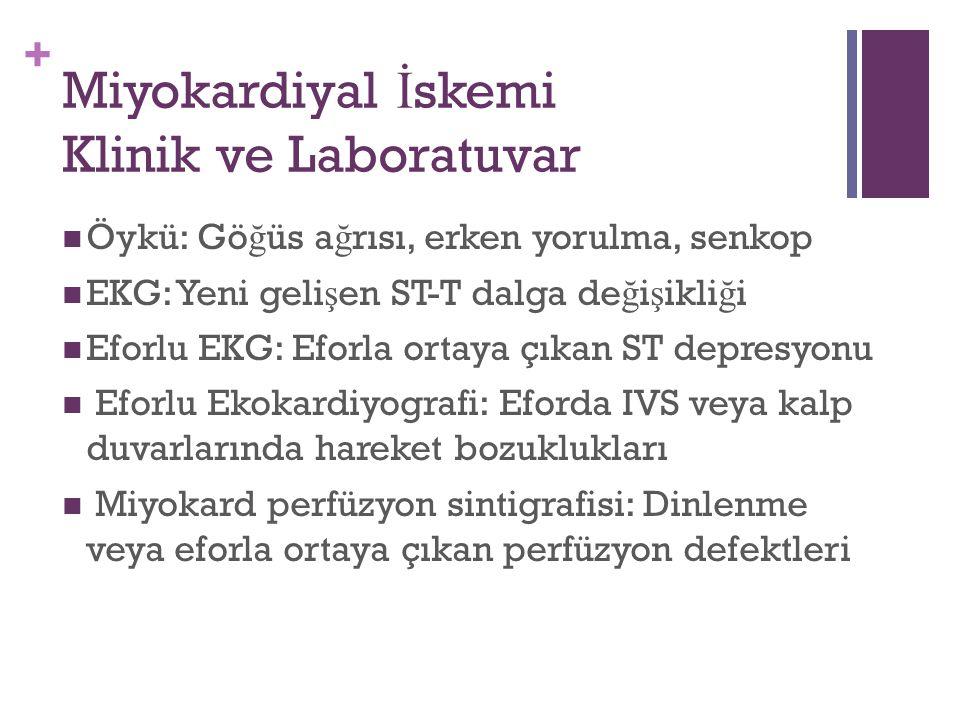 Miyokardiyal İskemi Klinik ve Laboratuvar