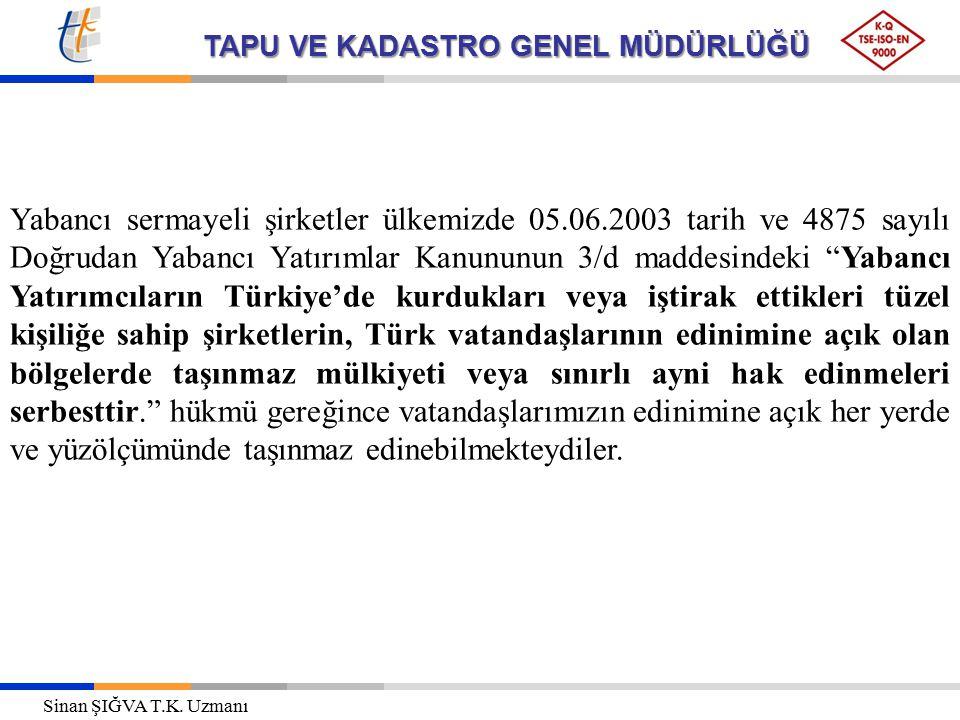Yabancı sermayeli şirketler ülkemizde 05. 06