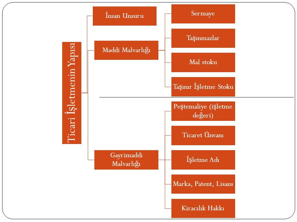 Ticari İşletmenin Yapısı