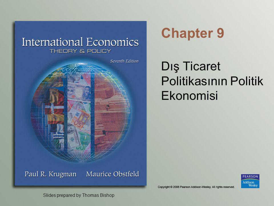 Dış Ticaret Politikasının Politik Ekonomisi