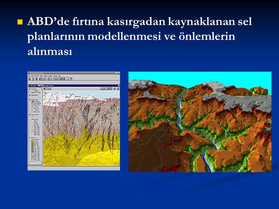 ABD'de fırtına kasırgadan kaynaklanan sel planlarının modellenmesi ve önlemlerin alınması