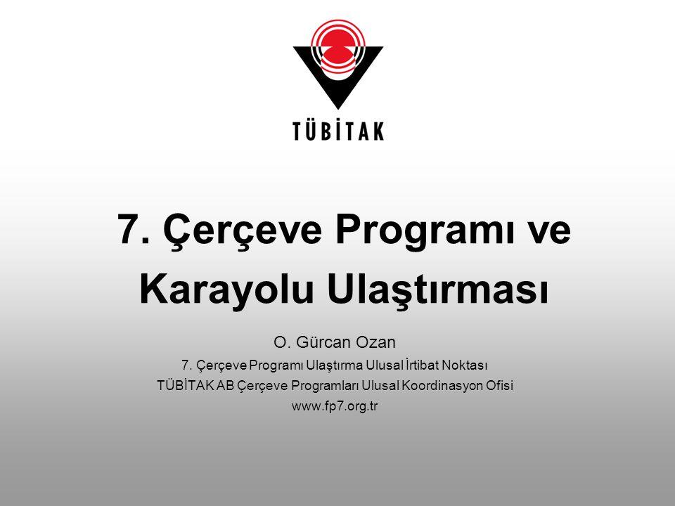 7. Çerçeve Programı ve Karayolu Ulaştırması