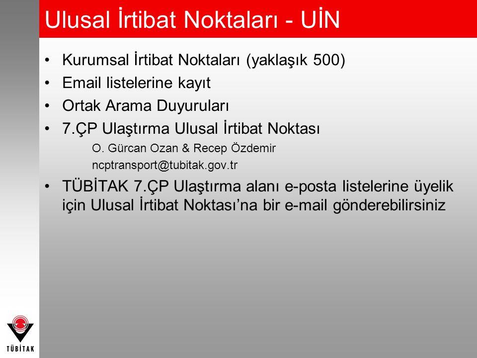 Ulusal İrtibat Noktaları - UİN