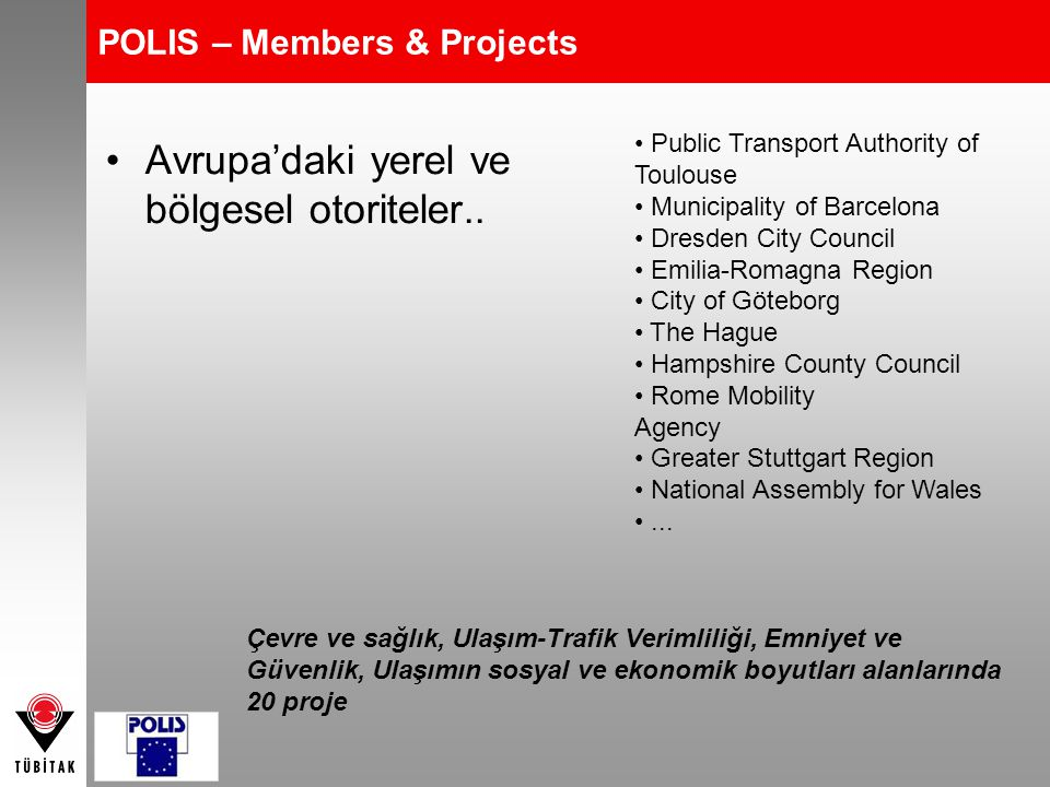POLIS – Members & Projects