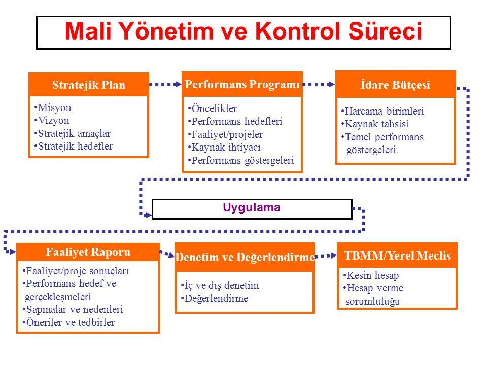 Mali Yönetim ve Kontrol Süreci