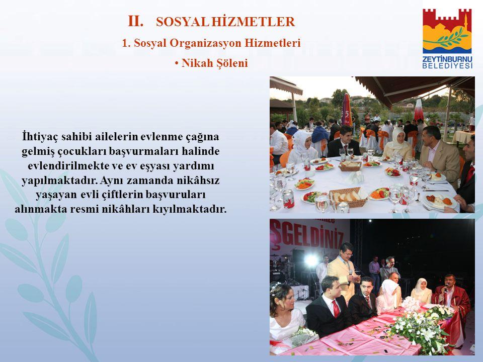 1. Sosyal Organizasyon Hizmetleri