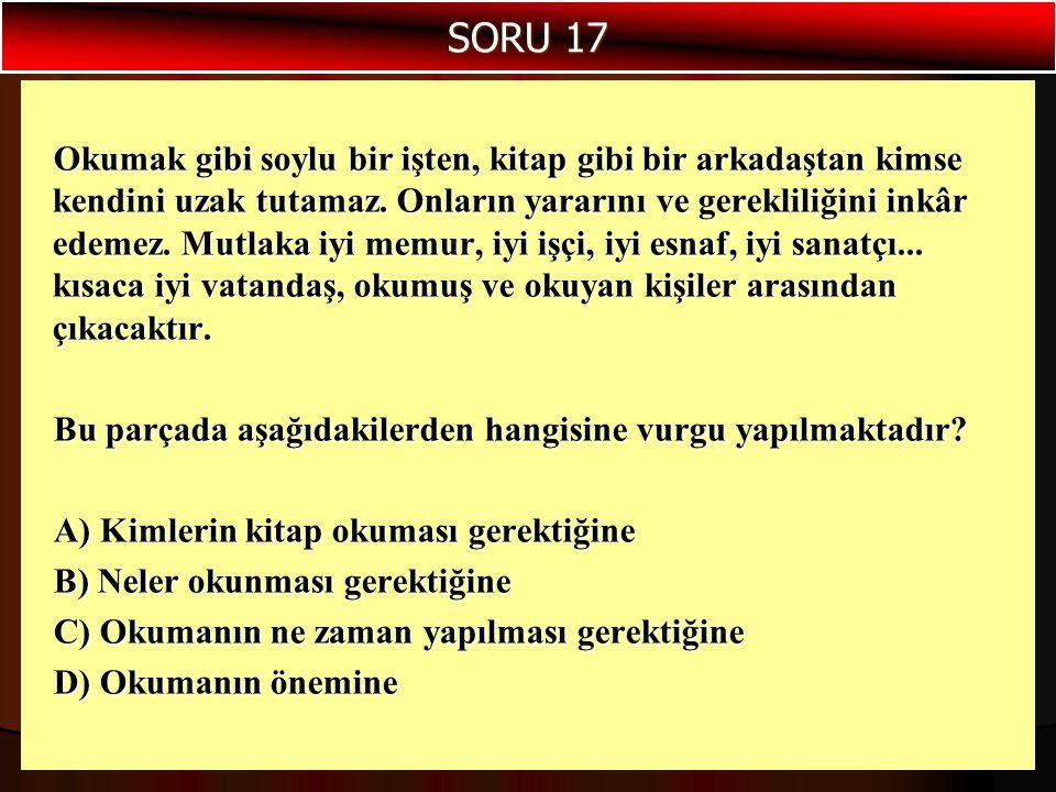 SORU 17