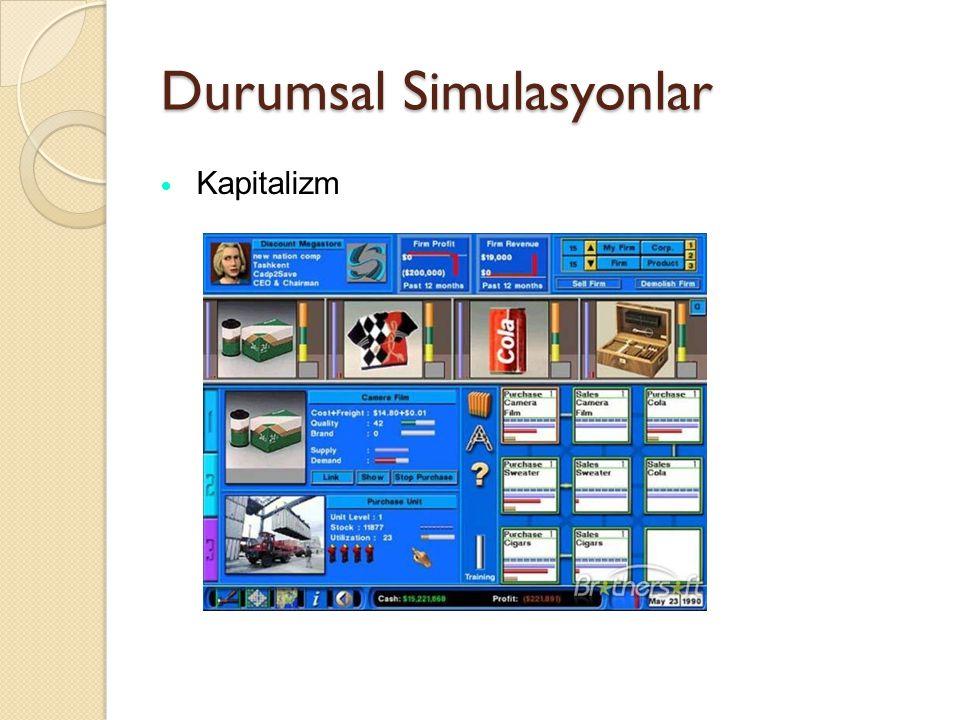Durumsal Simulasyonlar
