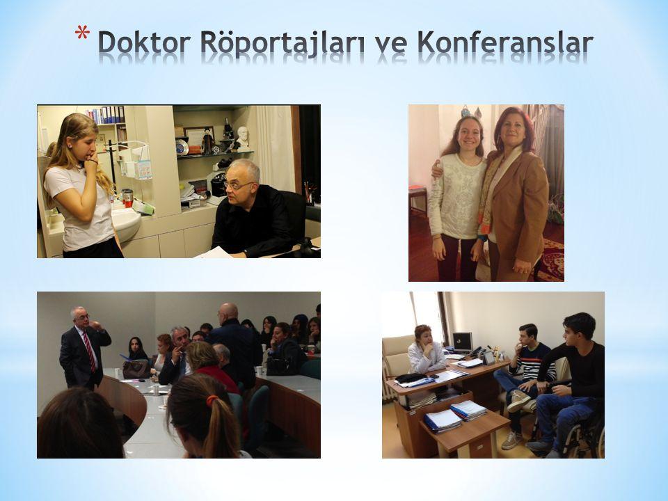 Doktor Röportajları ve Konferanslar