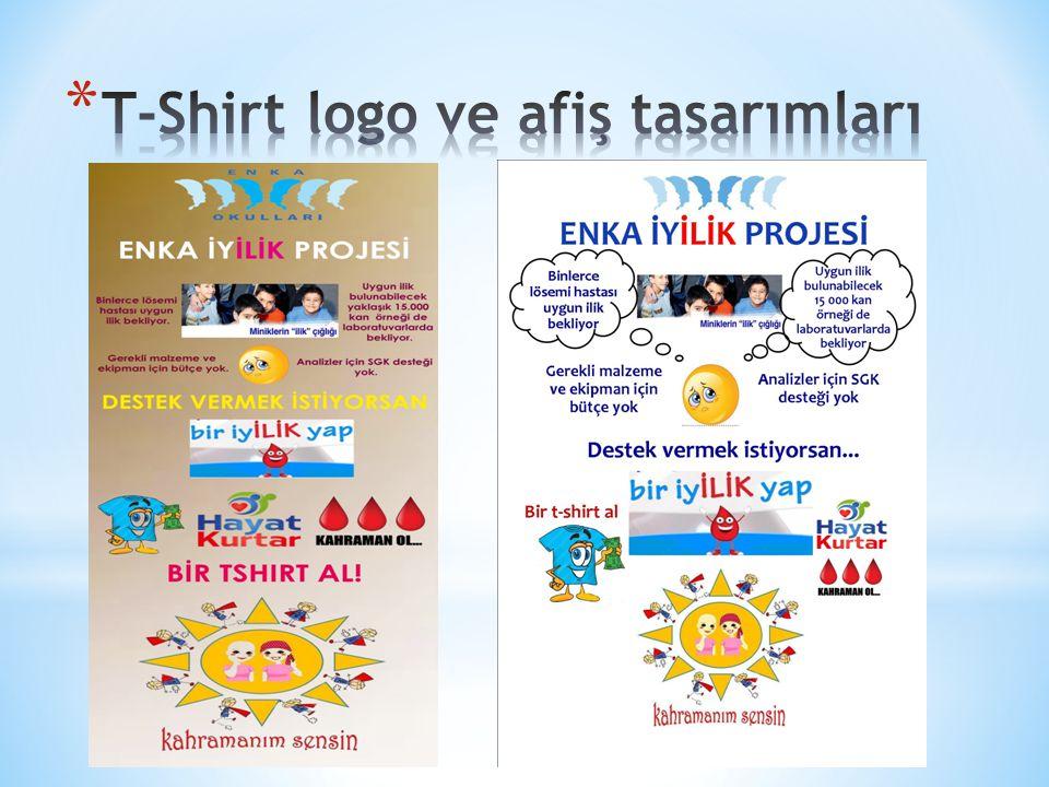 T-Shirt logo ve afiş tasarımları