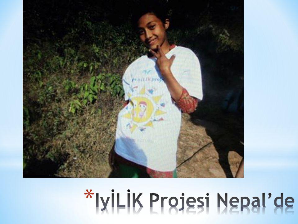 IyİLİK Projesi Nepal'de