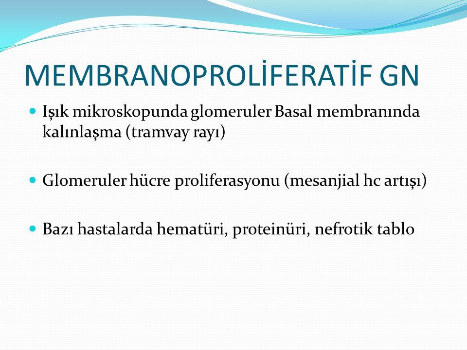 MEMBRANOPROLİFERATİF GN