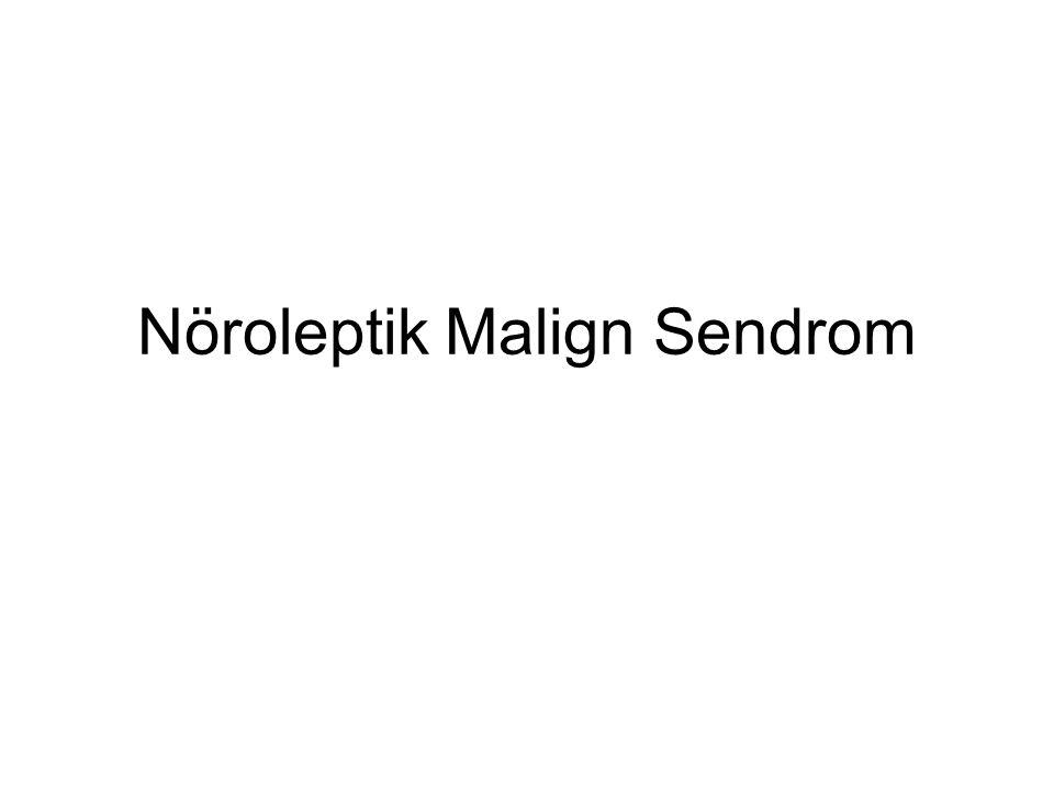 Nöroleptik Malign Sendrom