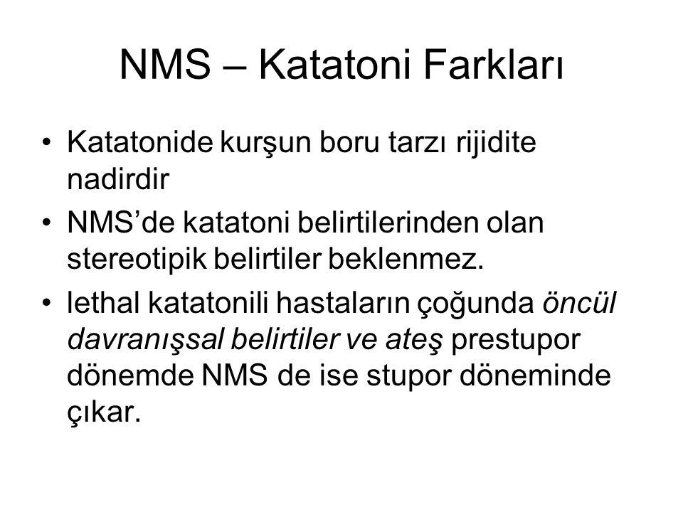 NMS – Katatoni Farkları