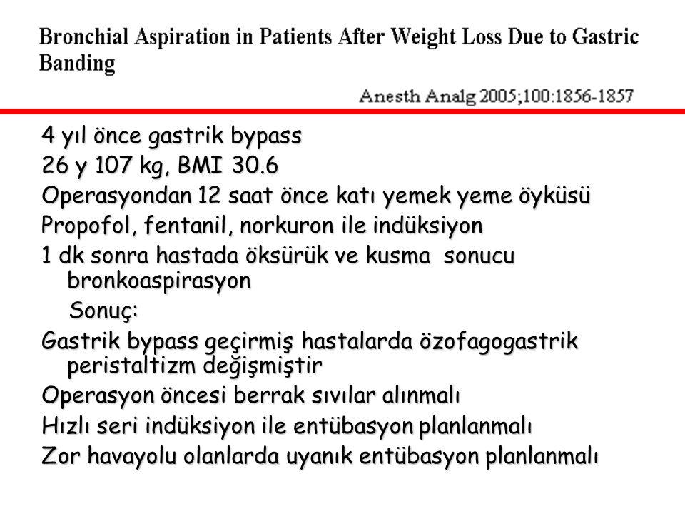 4 yıl önce gastrik bypass