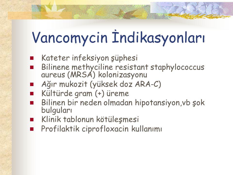 Vancomycin İndikasyonları