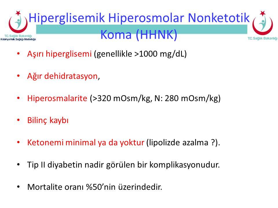 Hiperglisemik Hiperosmolar Nonketotik Koma (HHNK)