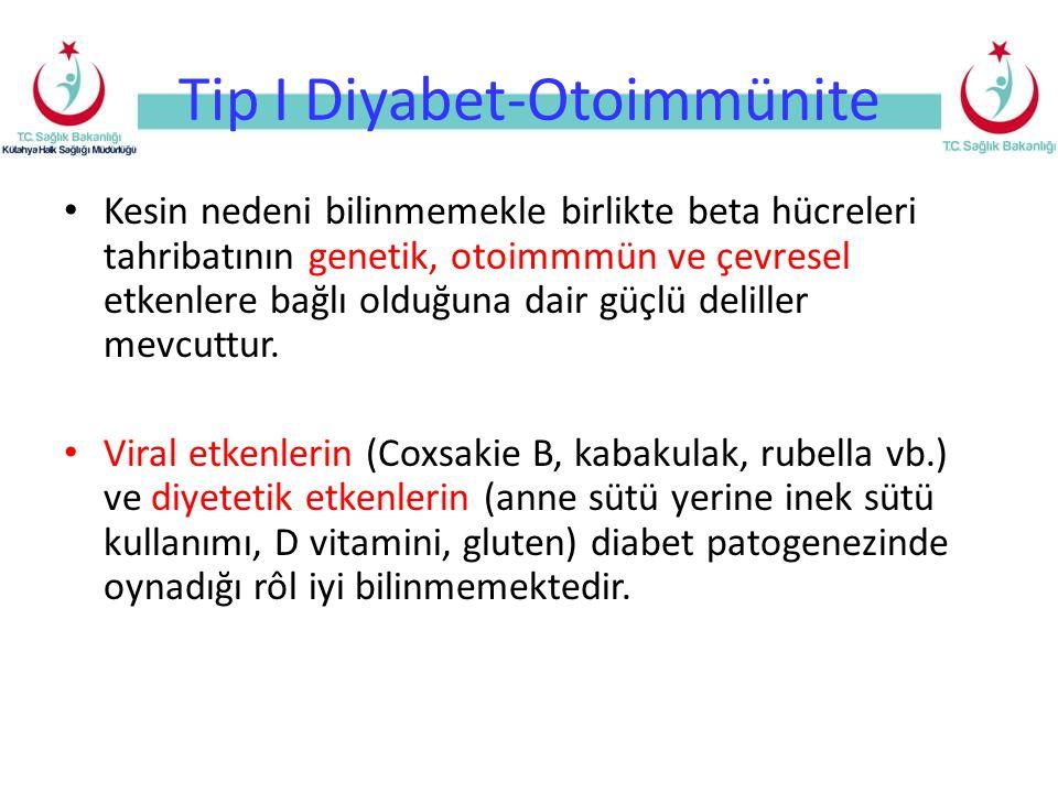 Tip I Diyabet-Otoimmünite