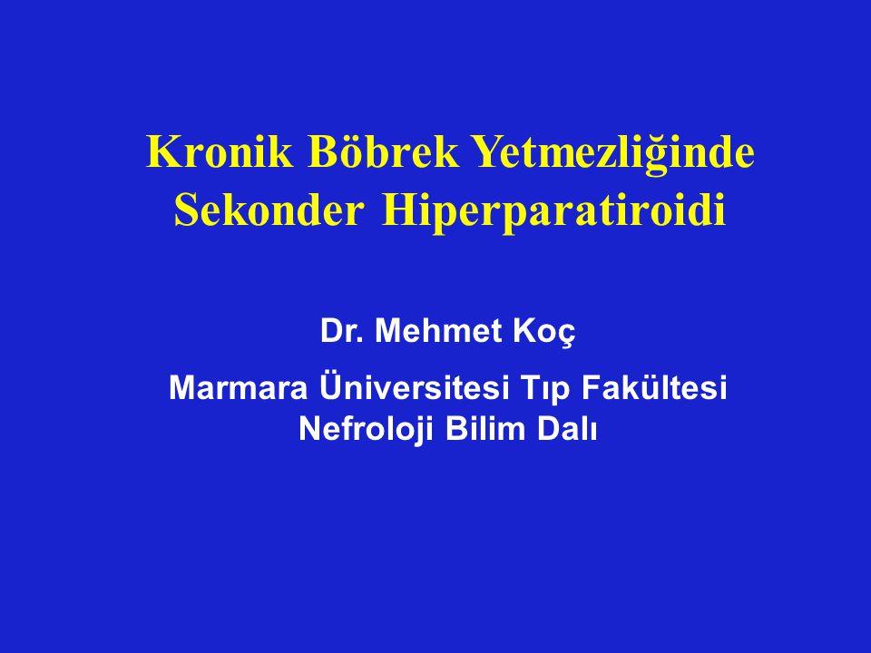 Kronik Böbrek Yetmezliğinde Sekonder Hiperparatiroidi