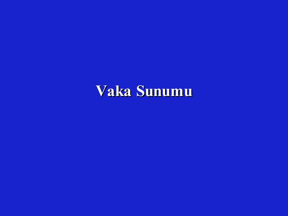 Vaka Sunumu