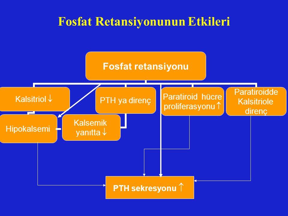 Fosfat Retansiyonunun Etkileri