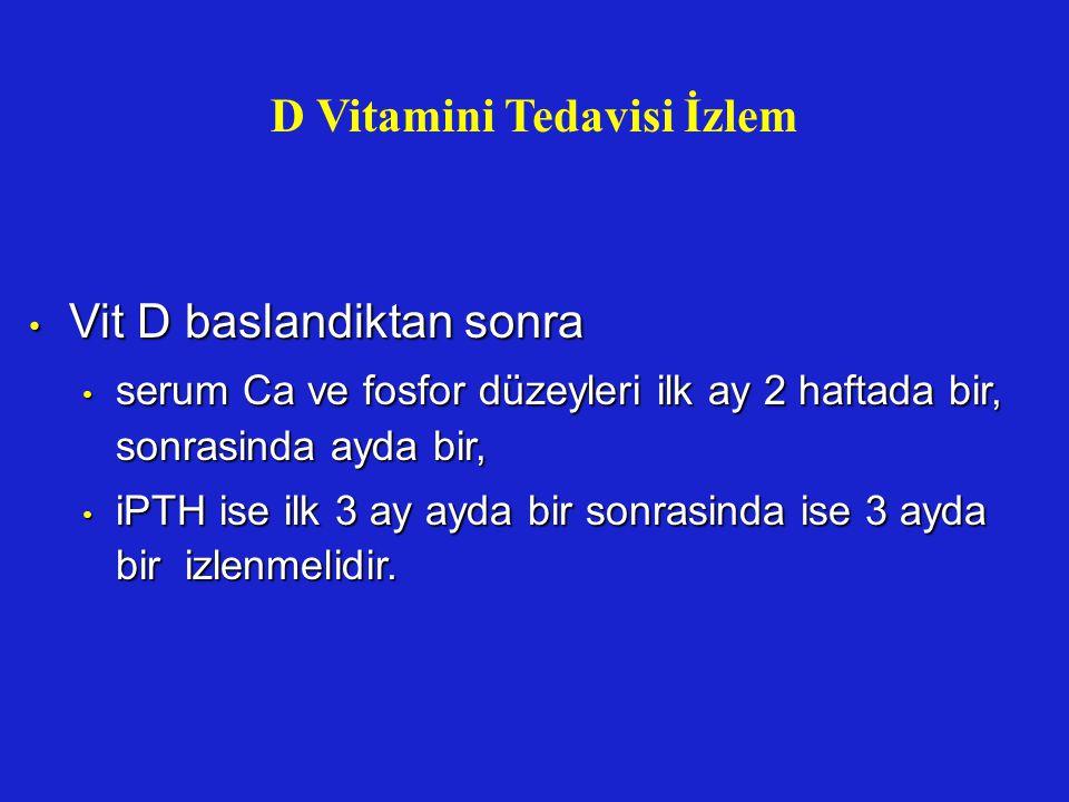 D Vitamini Tedavisi İzlem