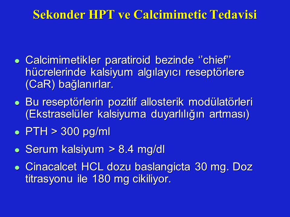 Sekonder HPT ve Calcimimetic Tedavisi