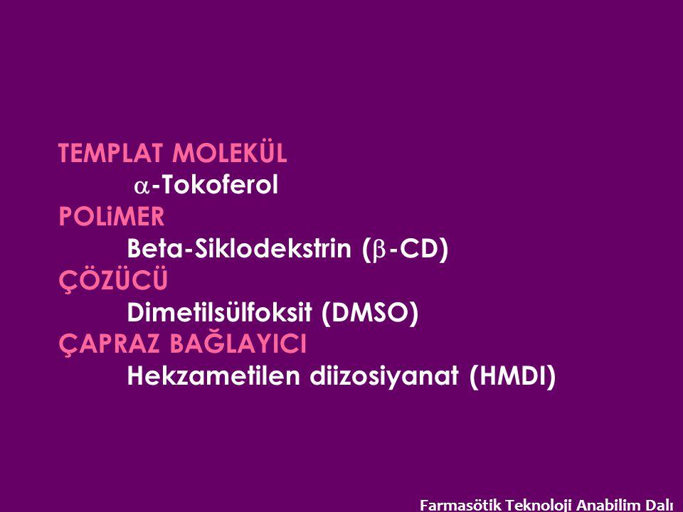 Beta-Siklodekstrin (b-CD) ÇÖZÜCÜ Dimetilsülfoksit (DMSO)