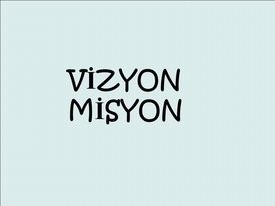 VİZYON MİSYON