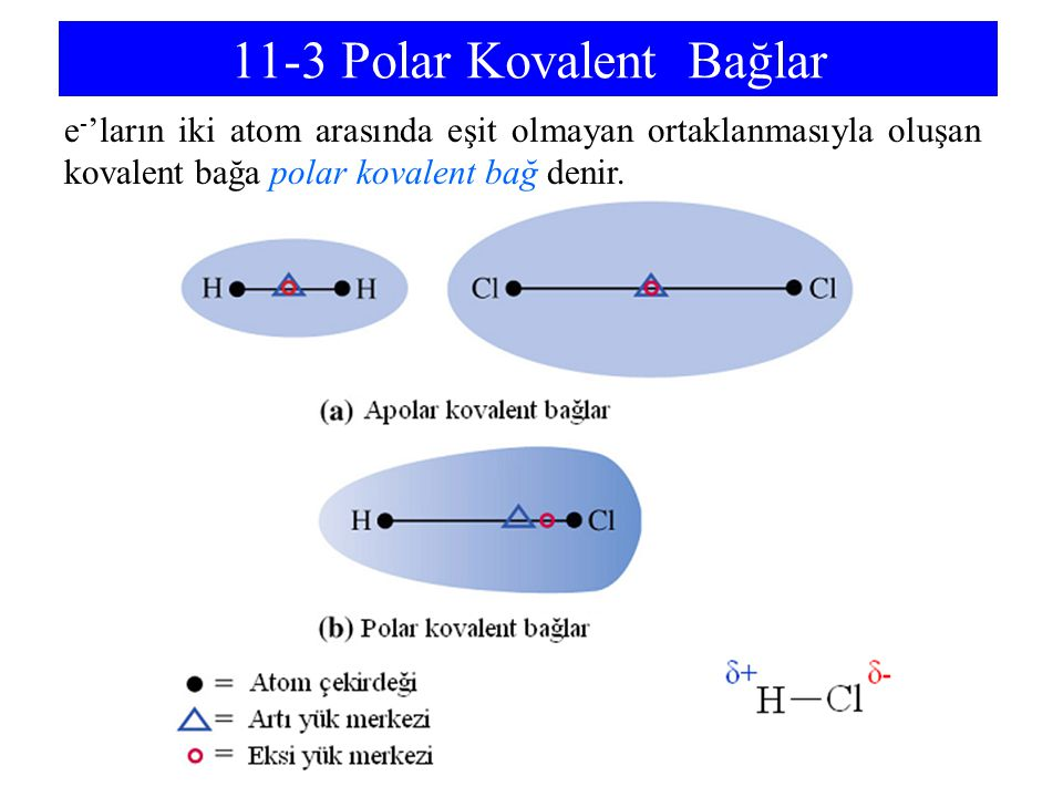 11-3 Polar Kovalent Bağlar