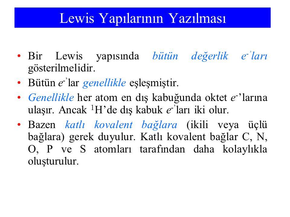 Lewis Yapılarının Yazılması